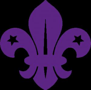 Fleur-de-lis---Purple-CYMK-80-100-0-0